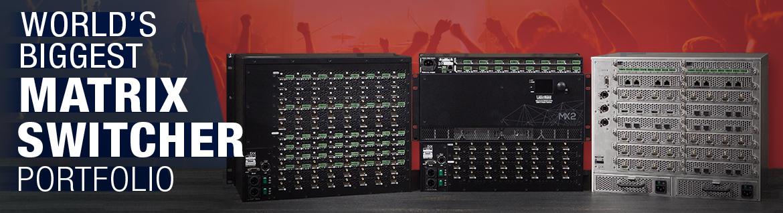 The World's Largest Portfolio of HDMI 2.0 Matrix Switchers