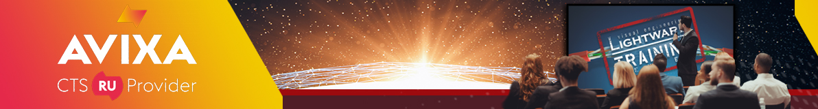 Collect AVIXA RU Points with Lightware Trainings