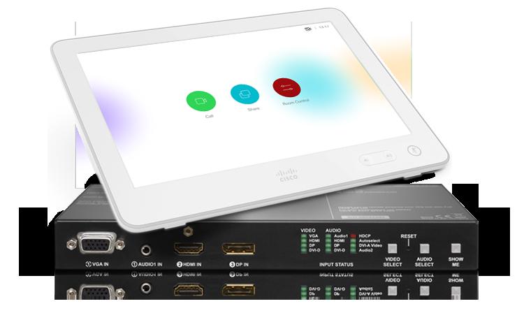 Cisco Touch 10 with UMX-TPS-TX140-Plus